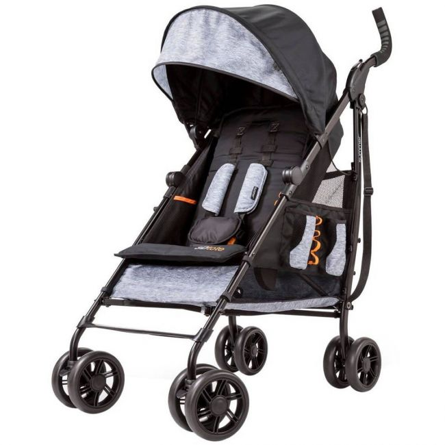 Summer Infant 3Dtote Convenience Stroller Heather Grey