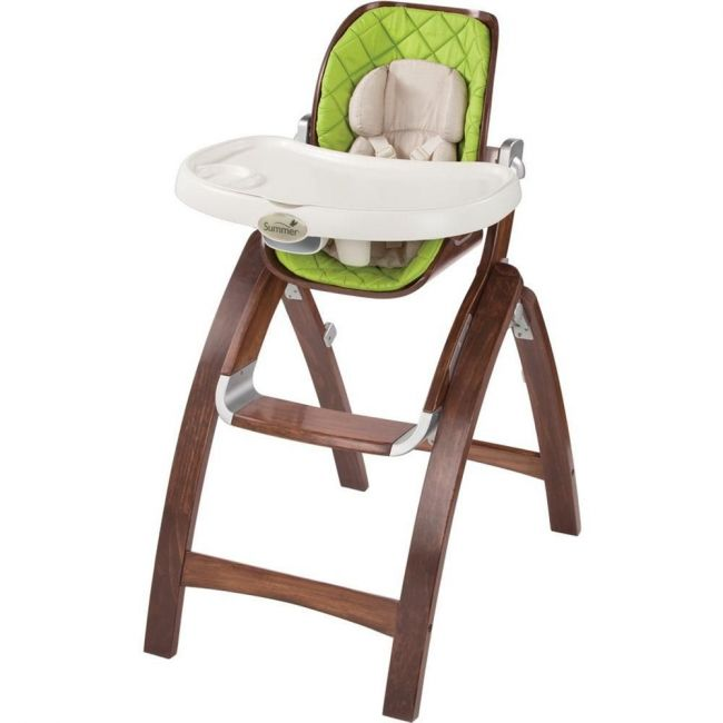 Summer Infant, Bentwood High Chair-Babytime