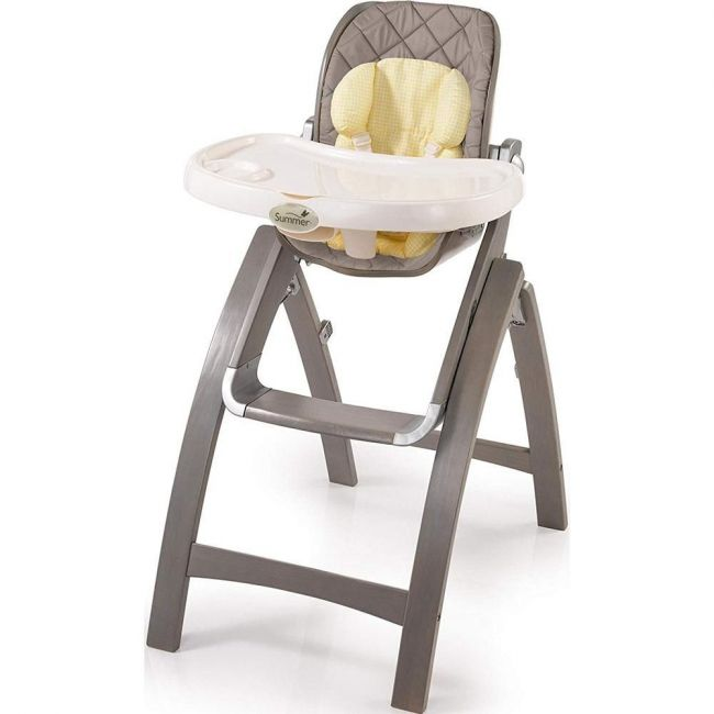 Summer Infant Grey, Bentwood High Chair