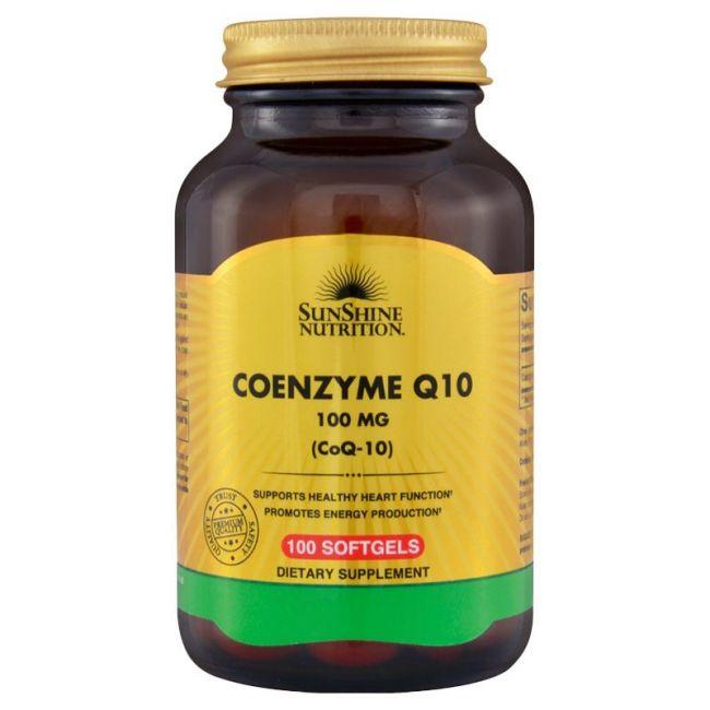 Sunshine Nutrition - Coenzyme Q10 100 Mg 100 Softgels