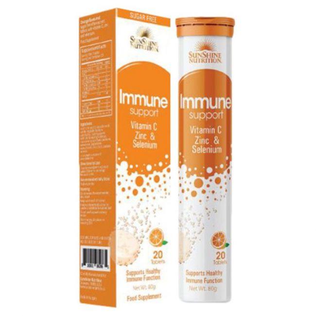 Sunshine Nutrition - Immune Support Effervescent Tabs 20's