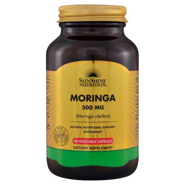 Sunshine Nutrition - Moringa 500 Mg 100 Capsules