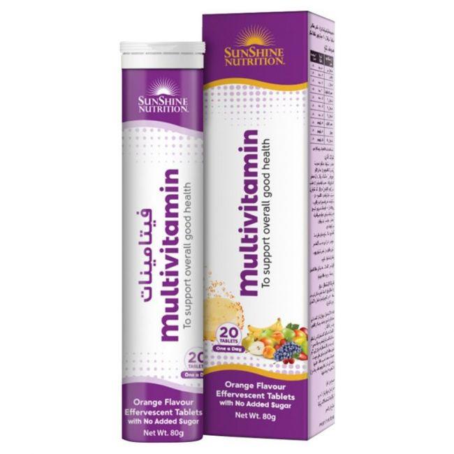 Sunshine Nutrition - Multivitamin Effervescent 20 Tablets