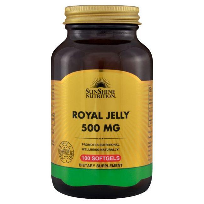 Sunshine Nutrition - Royal Jelly 500mg - 100 Softgels