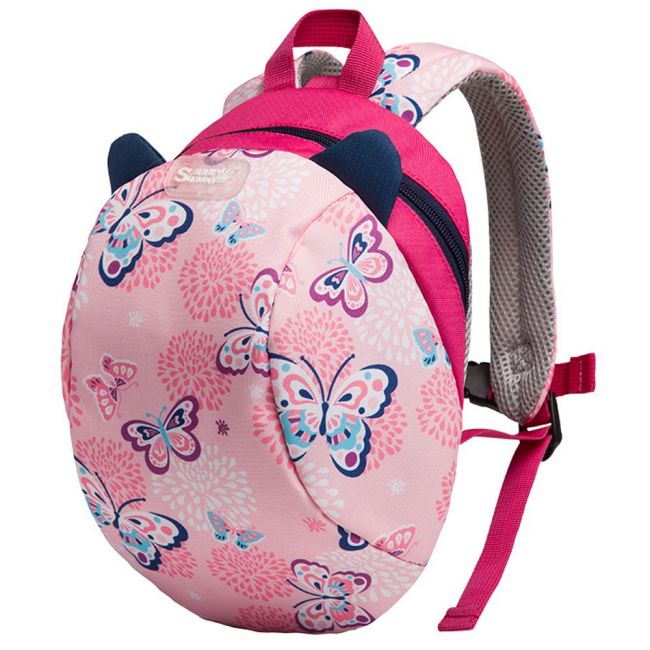 Sunveno Butterfly Pink Kids Backpack