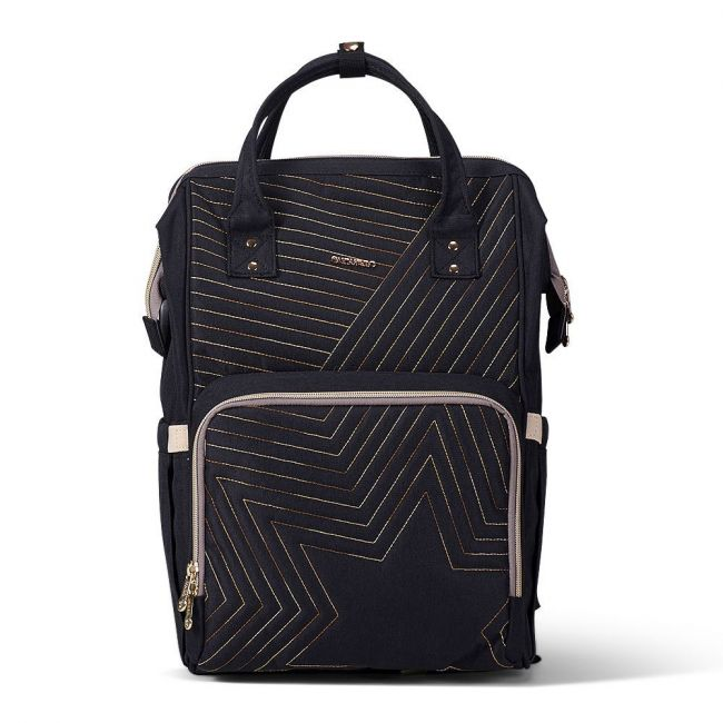 Sunveno - Diaper Bag - Nova Black Gold