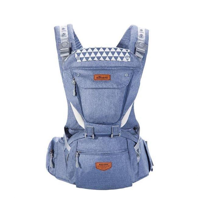 Sunveno Blue Kangaroo Style Ergonomic Baby Carrier