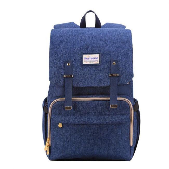 Sunveno - Travel Diaper Bag XL - Blue