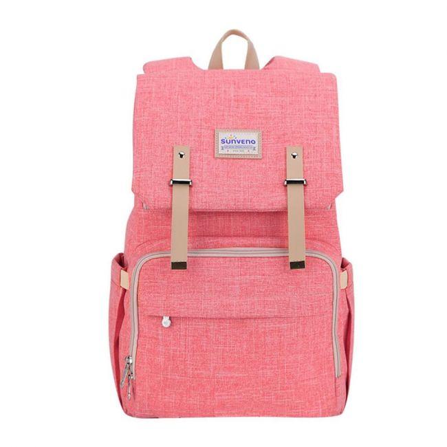 Sunveno - Travel Diaper Bag XL - Orange