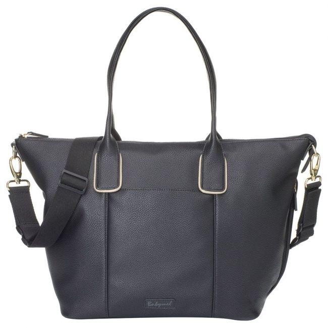 Babymel - Roxy Vegan Leather Diaper Bag - Black