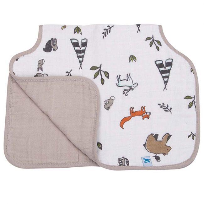 Little Unicorn - Cotton Muslin Burp Cloth - Forest Friends