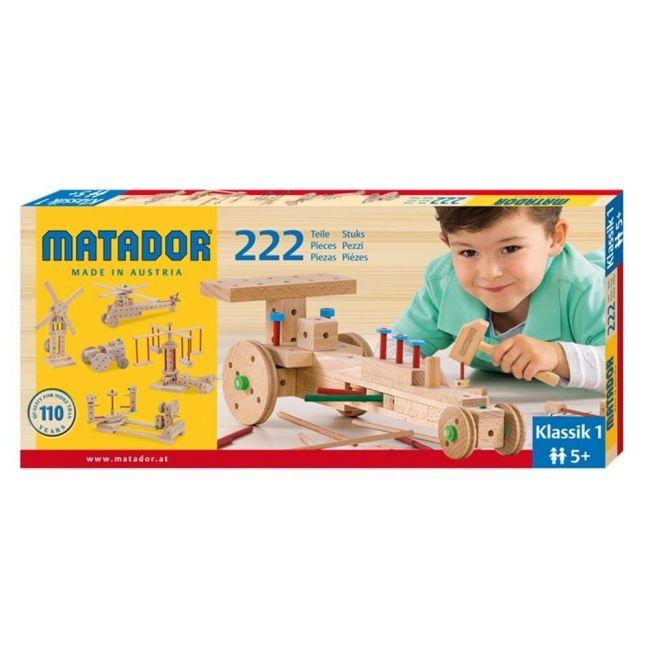 Matador 222pcs Klassik Nr 1 Wooden Block Toys