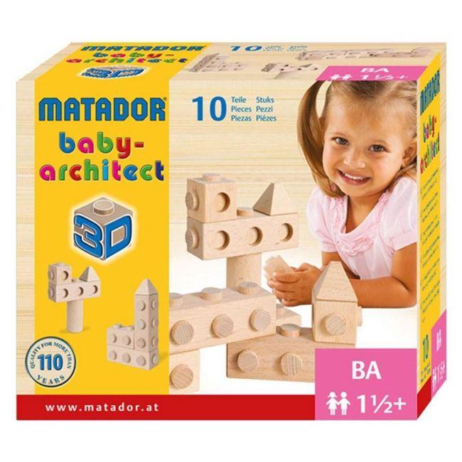 Matador 10pcs Baby Architect Building Blocks