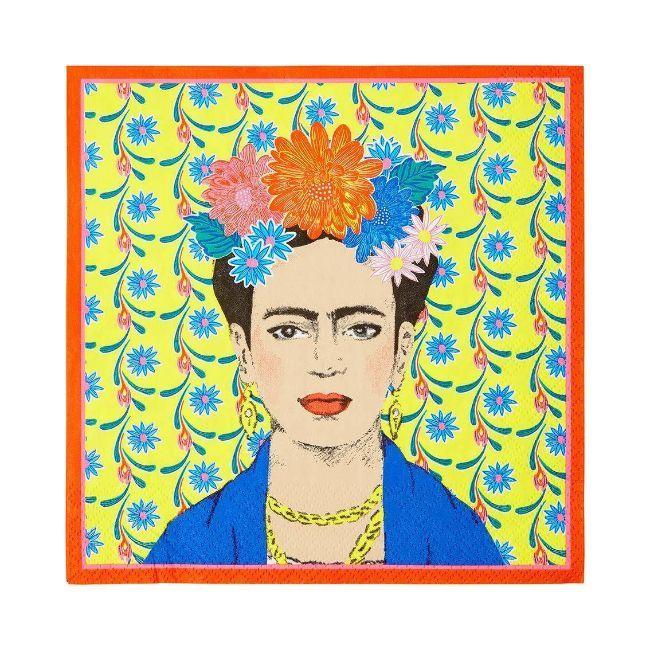Talking Tables - Boho Frida Kahlo Napkin