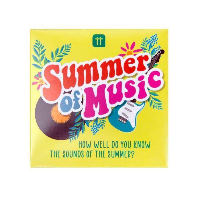 Talking Tables - Boho Summer Of Music Trivia