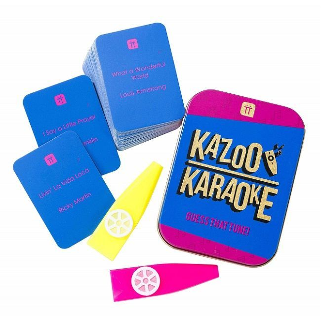 Talking Tables - Kazoo Karaoke Tin Game