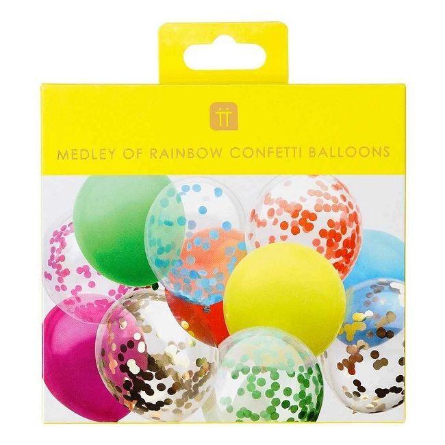 Talking Tables - Rainbow Confetti Balloons