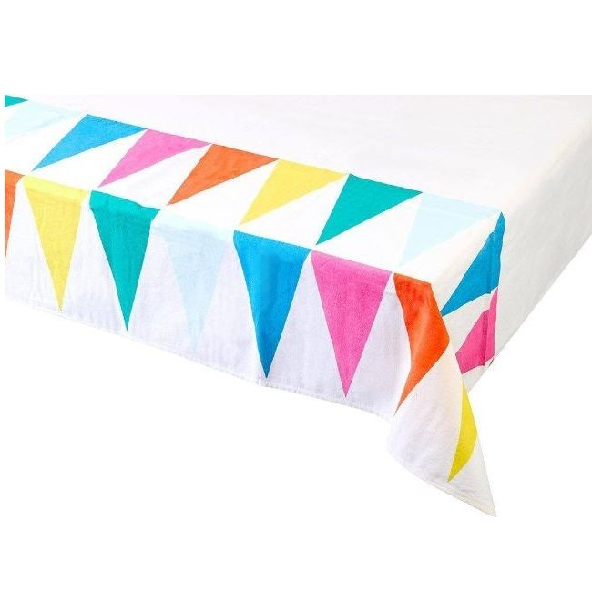 Talking Tables - Rainbow Fabric Table Cover