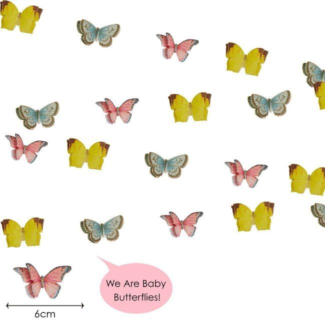 Talking Tables - Truly Fairy Mini Butterfly Bunting