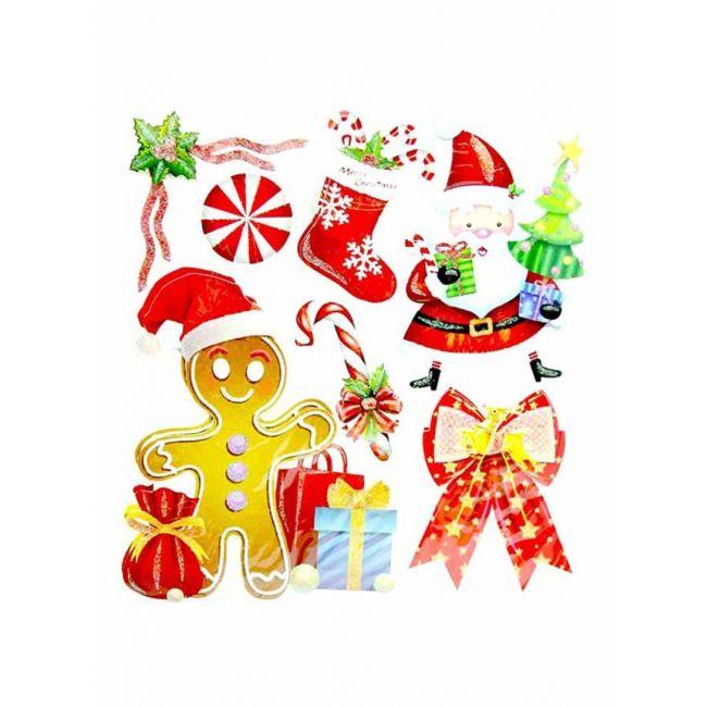 Tamona - 3D Christmas Stickers - H3S201