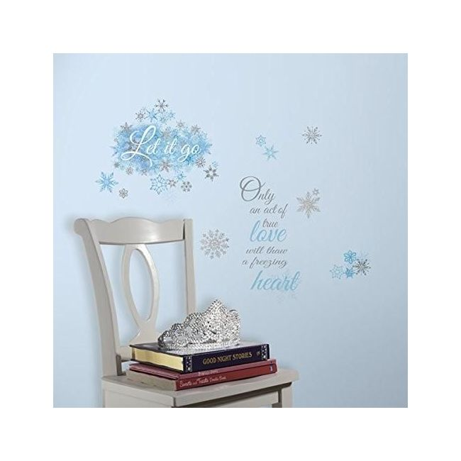 RoomMates Disney Frozen Let It Go Peel And Stick Wall Decal