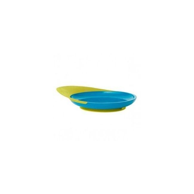 Boon Blue Catch Plate With Spill Catcher