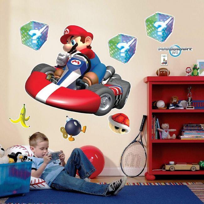 Room Mates Mario Kart Giant Wall Decal