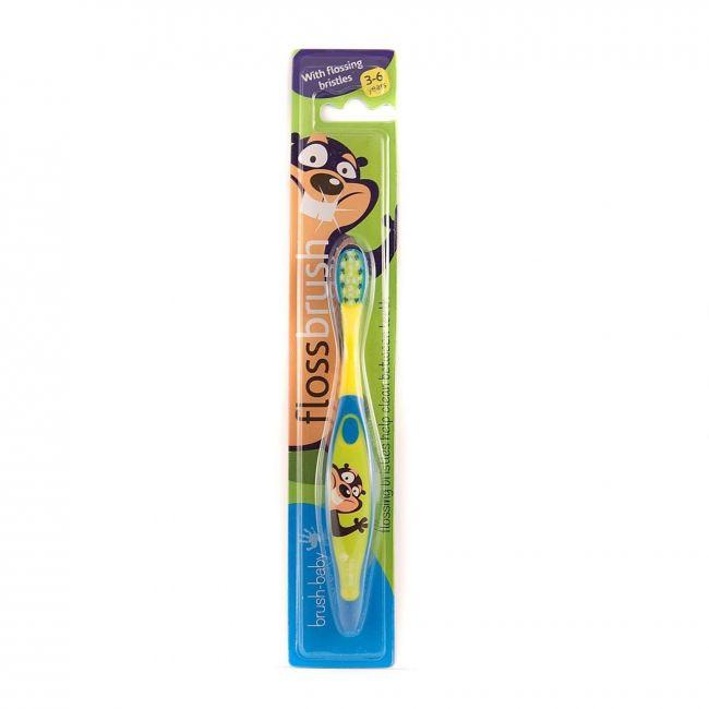 Brush Baby Green Floss Brush
