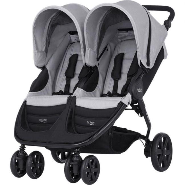 Britax Steel Grey B-Agile Double Stroller