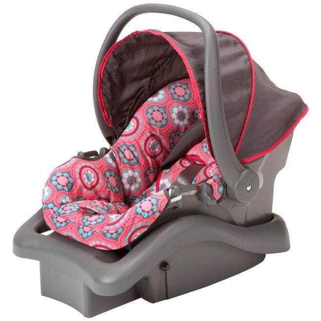 Cosco Light 'n Comfy DX Infant Car Seat- Posey Pop