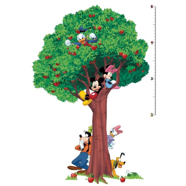 Room Mates Mickey And Friends Growth Chart
