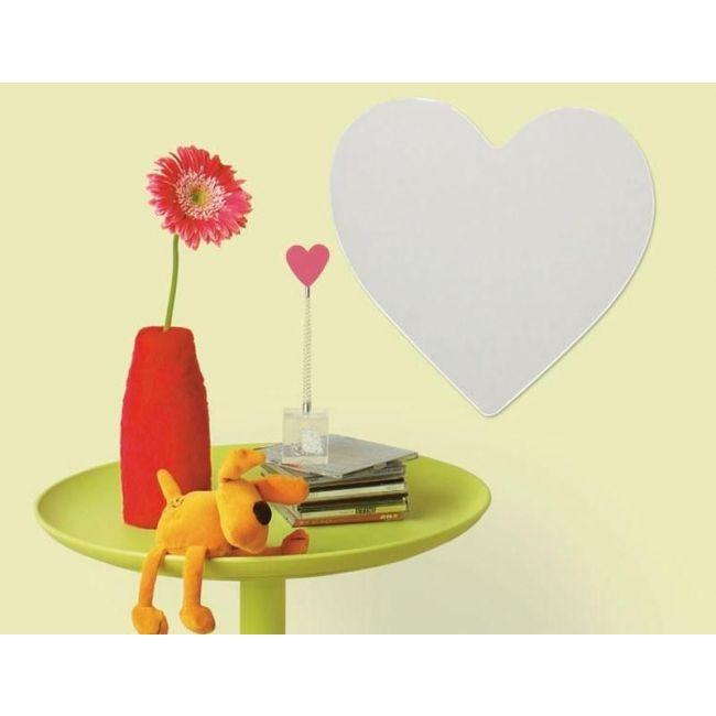 RoomMates Heart Peel & Stick Mirror