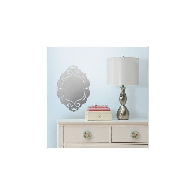 RoomMates Frame Peel & Stick Mirror
