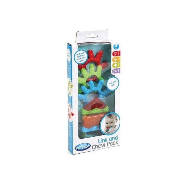 Playgro - Link in Chew Teether Pack
