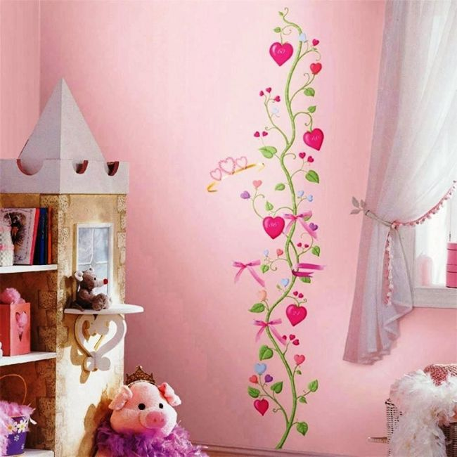 Room Mates Fairy Princess Growth Chart