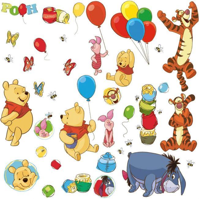 RoomMates Winnie the Pooh - Pooh & Friends Peel & Stick Wall Decals