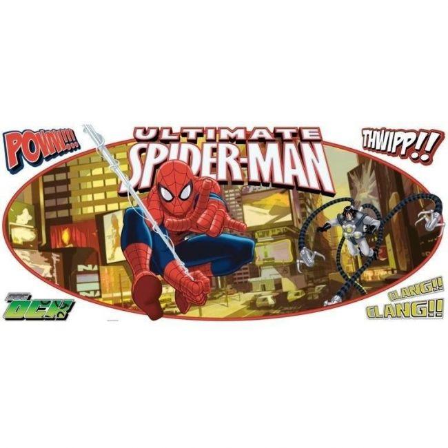 Room Mates Ultimate Spiderman Applique