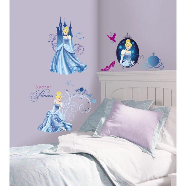 Room Mates Disney Princess - Cinderella Glamour Peel & Stick Wall Decals