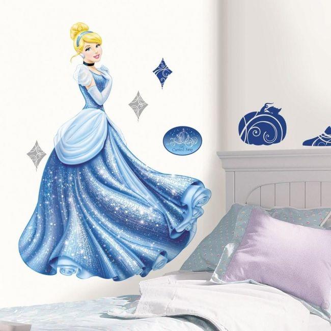Room Mates Disney Princess - Cinderella Glamour Peel & Stick Giant Wall Decal