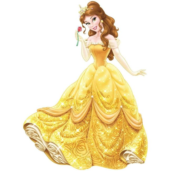 Room Mates Princess Belle Giant Decals