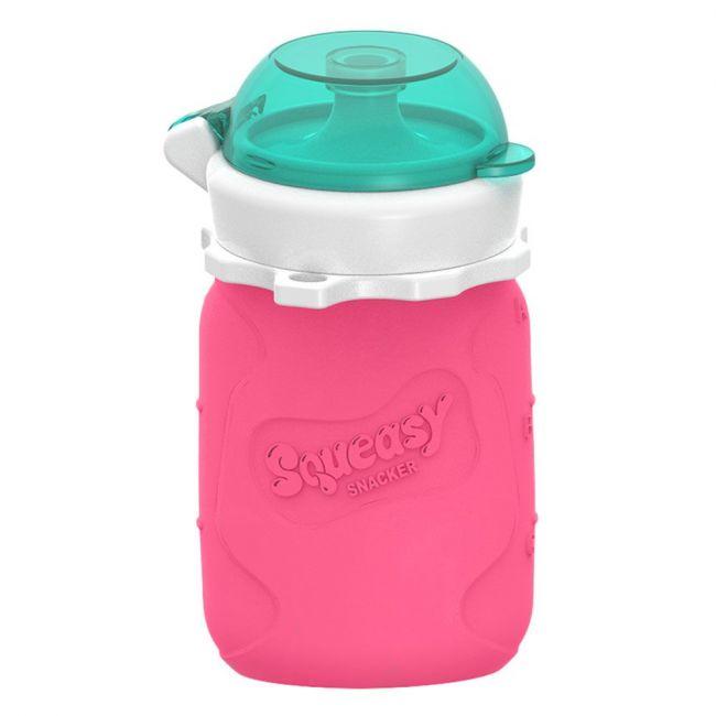 Squeasy - Snacker Pink - 3.5oz