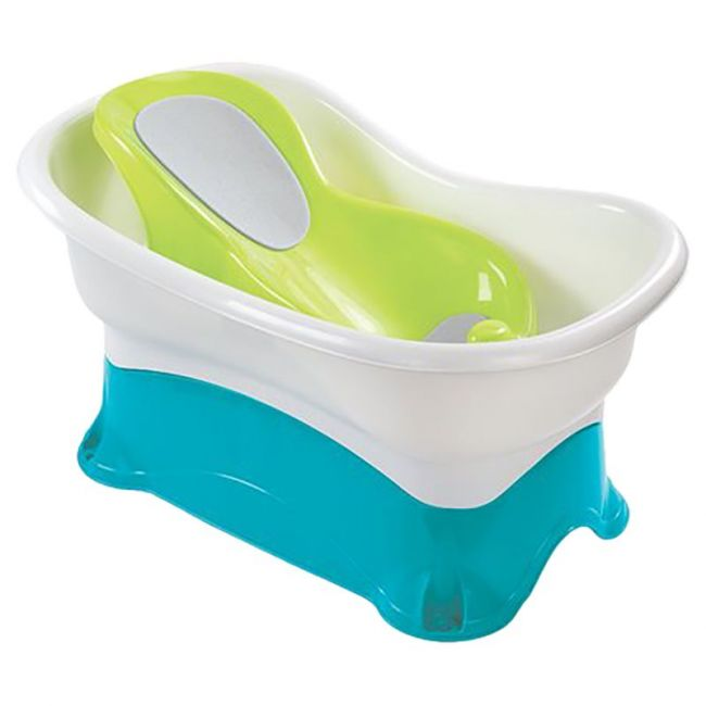 Summer Infant - Comfort Height Bath Center With Step Stool
