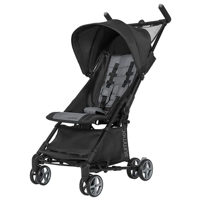Summer Infant - 3D Micro Super Compact Fold Stroller From 6 Months 3 Years Black