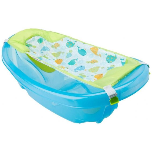 Summer Infant Blue Easystore Comfort Baby Bath Tub