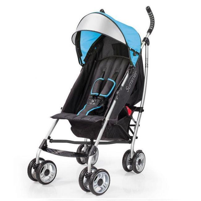 Summer Infant 3D Lite Stroller -Tropical Caribbean Blue
