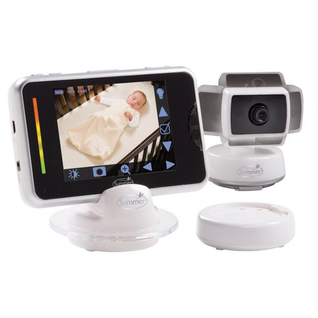 Summer Infant, Digital Video Monitor - Baby Touch Edge - Privacy Plus Series