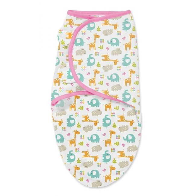 Summer Infant - Original Swaddle Jungle - Pink