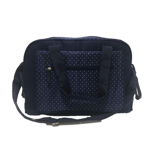Summer Infant, Navy Polka Dot Changing Bag