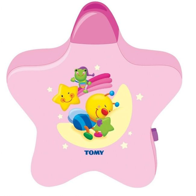 Tomy Be Baby Pink Starlight Dreamshow Night Light