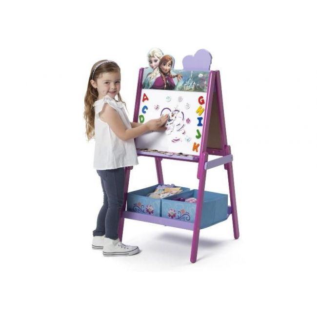 Delta Children Frozen Wooden Easel with Storage